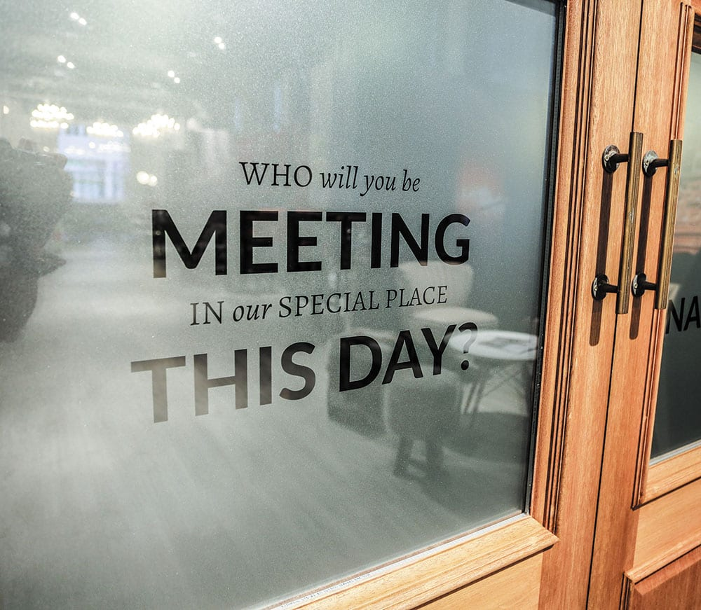 who will you be meeting in our special place this day?